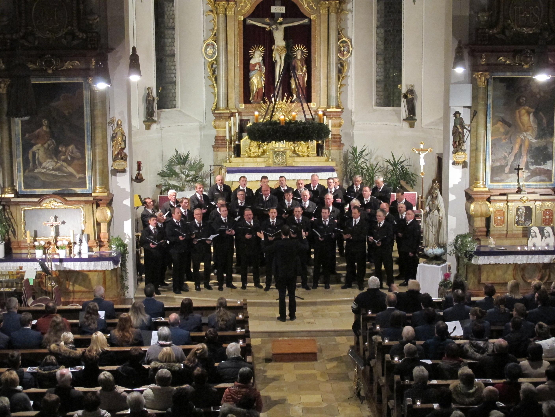 Jubiläumskonzert zusammen mit dem Musikverein Iggingen